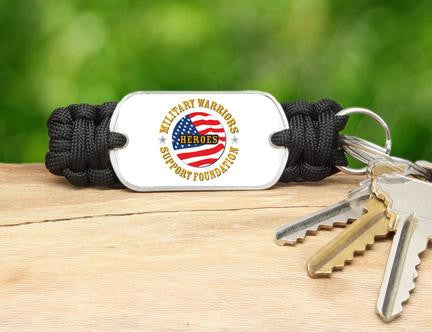 Key Fob-Military Warriors Support Foundation Logo