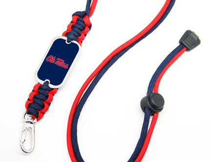 Neck ID Lanyard - Officially Licensed - Ole Miss® Rebels™