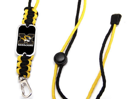Neck ID Lanyard - Officially Licensed - University of Missouri® Tigers™