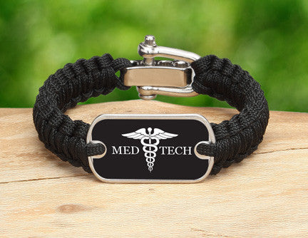 Light Duty Survival Bracelet™ - Medical Technician Tag