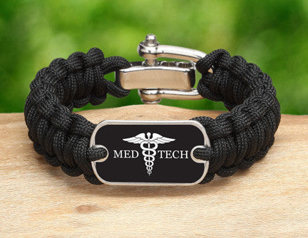 Regular Survival Bracelet™ - Medical Technician Tag