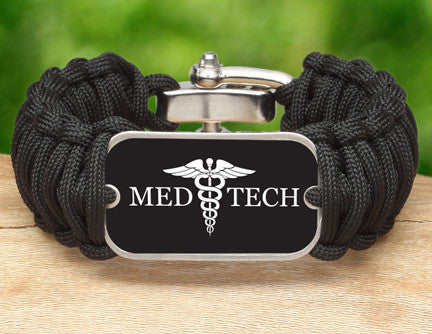 Wide Survival Bracelet™ - Medical Technician Tag
