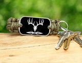 Key Fob - Deer Skull and Broadheads