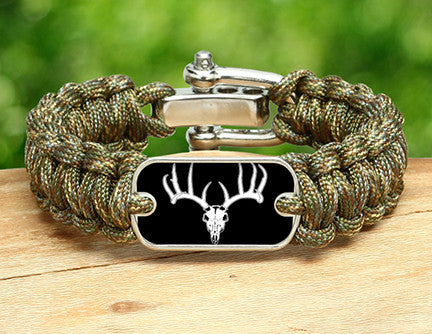 Regular Survival Bracelet™ - Deer Skull