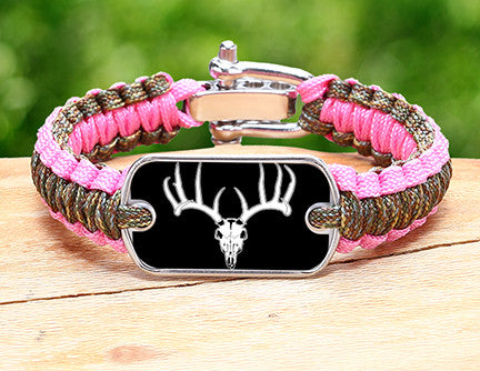 Light Duty Survival Bracelet™ - Deer Skull