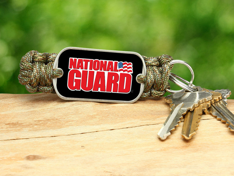 Key Fob - National Guard - Camo