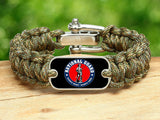 Regular Survival Bracelet™ - Minuteman - Camo