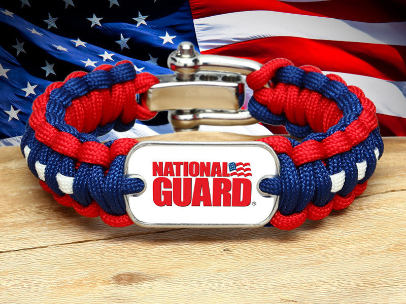 Regular Survival Bracelet™ - National Guard - R. Patriot
