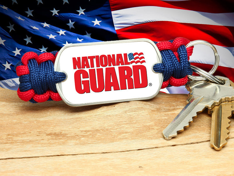 Key Fob - National Guard - R. Patriot