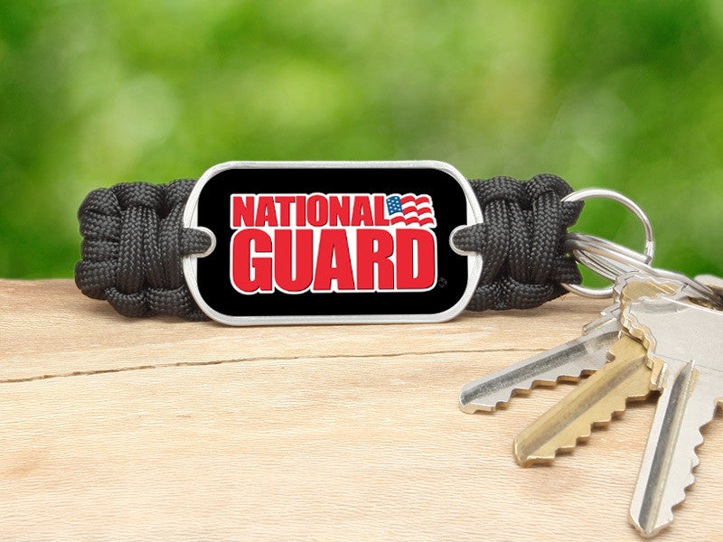 Key Fob - National Guard - Black