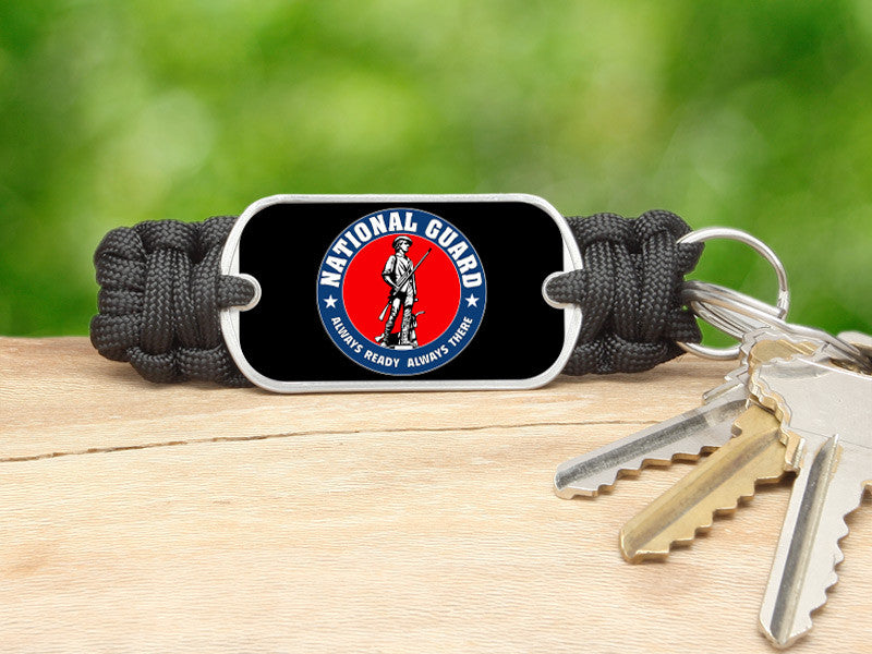 Key Fob - Minuteman - Black
