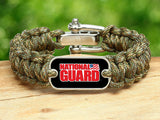Regular Survival Bracelet™ - National Guard - Camo
