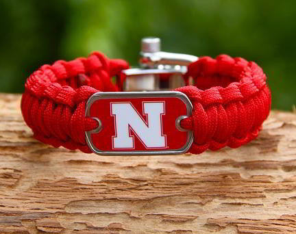 Regular Survival Bracelet - Officially Licensed - Nebraska® Huskers® V2