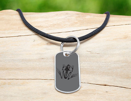 Neck Cord - Navy SEAL Foundation - Bone Frog Stealth