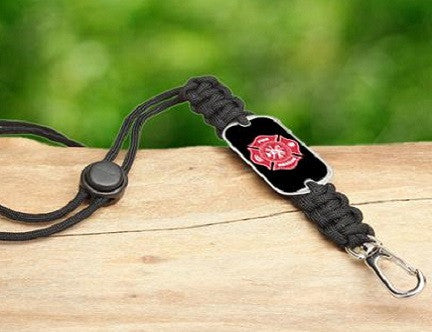 Neck ID Lanyard - Firefighter Tag