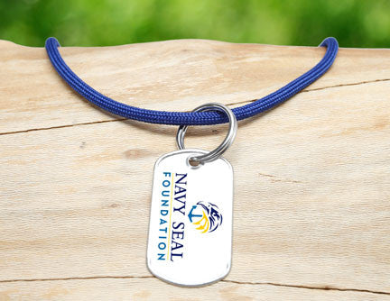 Neck Cord - Navy SEAL Foundation - Blue and Yellow