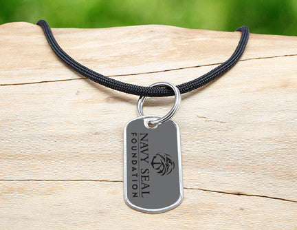 Neck Cord - Navy SEAL Foundation - Stealth