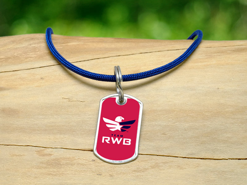 Neck Cord - Team RWB Red Tag