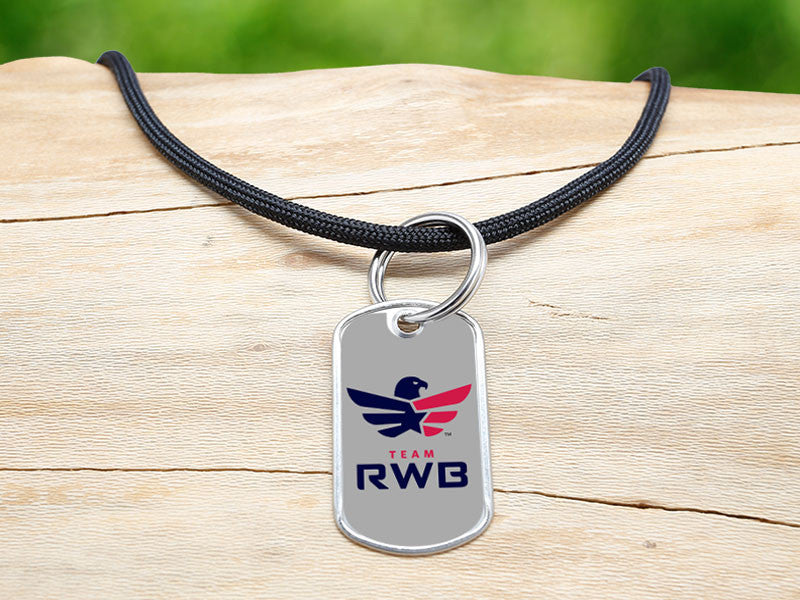 Neck Cord - Team RWB Black