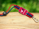 Neck ID Lanyard - Team RWB Red Tag