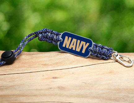 Neck ID Lanyard - Officially Licensed - U.S. Navy - V2