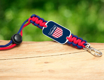 Neck ID Lanyard - Team USA Shield