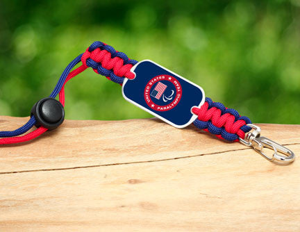 Neck ID Lanyard - US Paralympic Team (Blue)