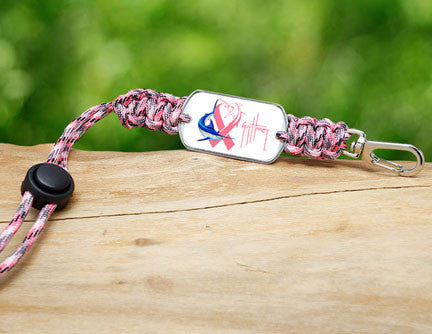 Neck ID-Guy Harvey-Camo Pink Ribbon