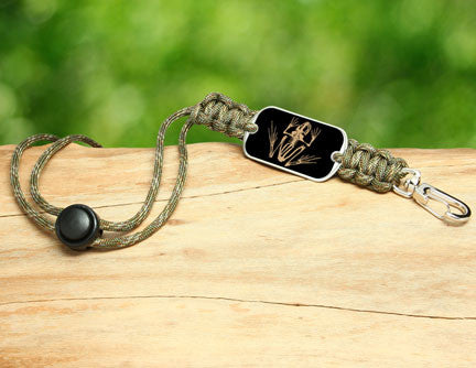 Neck ID Lanyard - Navy SEAL Foundation - Bone Frog Matches Multicam®