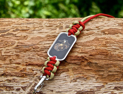 Neck ID Lanyard - Officially Licensed - USMC