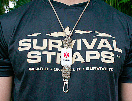 Neck ID Lanyard - Medical Alert