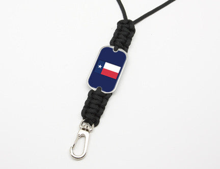 Neck ID Lanyard - Texas Flag