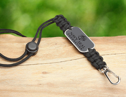 Neck ID Lanyard - Navy SEAL Foundation - Stealth