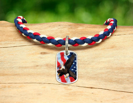 Necklace - America Strong Eagle3 Logo