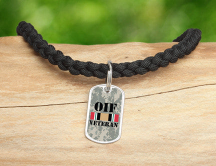 Necklace - OIF Veteran