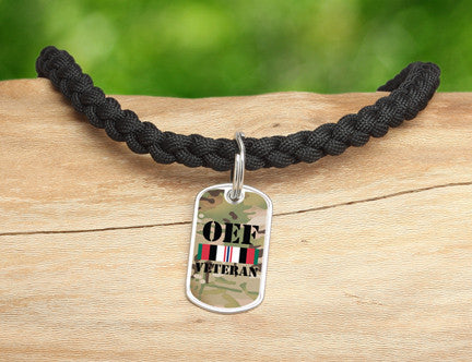 Necklace - OEF Veteran