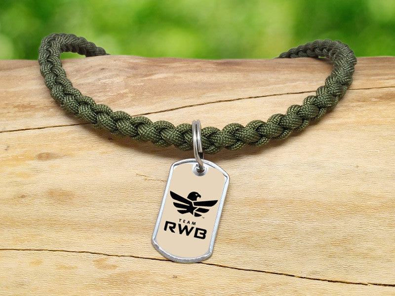 Necklace - Team RWB Lt. OD Green