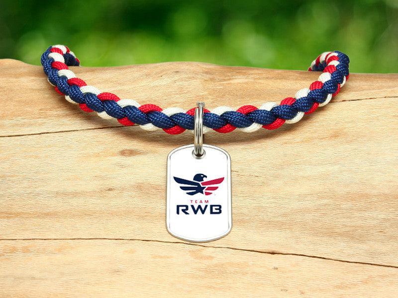 Necklace - Team RWB White Tag