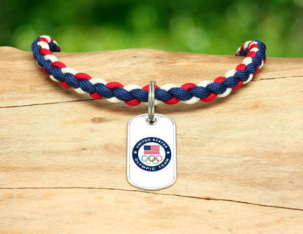 Necklace - US Olympic Team (White)