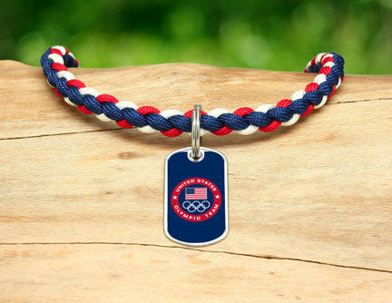 Necklace - US Olympic Team (Blue)
