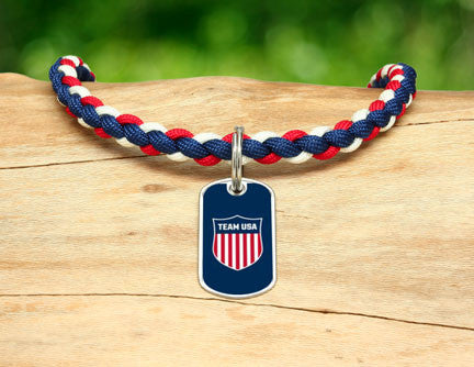 Necklace - Team USA Shield