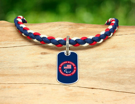 Necklace - US Paralympic Team (Blue)