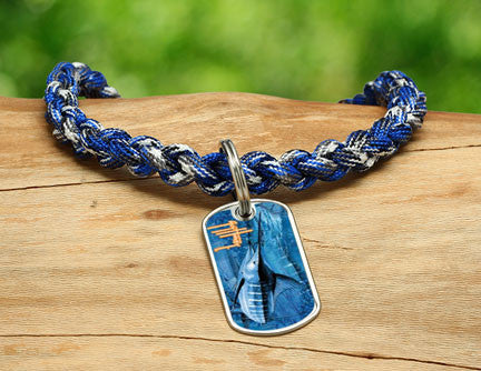 Necklace-Guy Harvey-Blue Marlin Camo