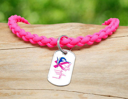 Necklace-Guy Harvey-Neon Pink Ribbon