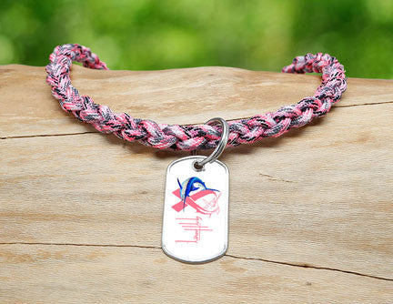 Necklace-Guy Harvey-Camo Pink Ribbon
