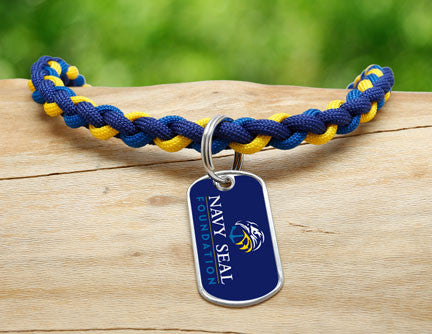 Necklace - Navy SEAL Foundation - Blue and Yellow