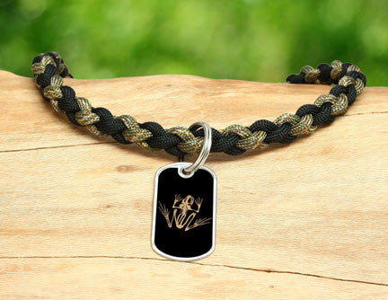 Necklace - Navy SEAL Foundation - Bone Frog Matches Multicam®