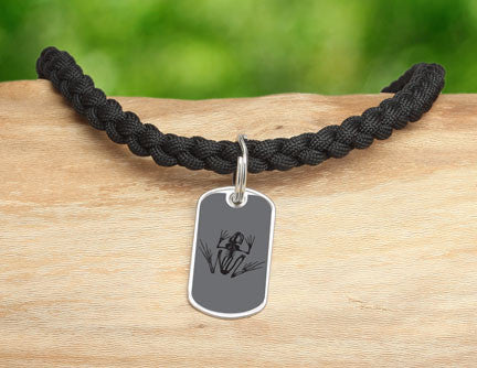 Necklace - Navy SEAL Foundation - Bone Frog Stealth