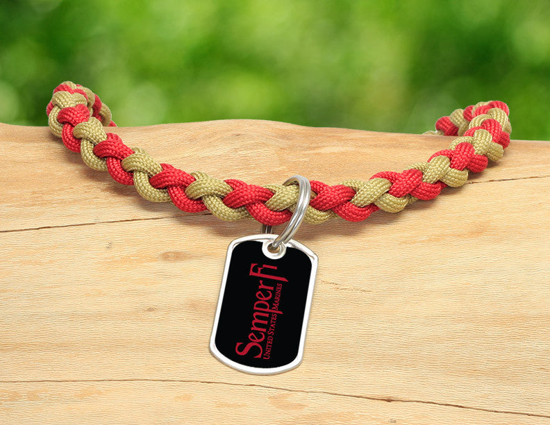 Necklace - Red Semper Fi