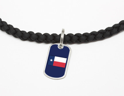 Necklace - Texas Flag